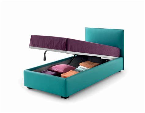 letti singoli imbottiti con contenitore letto e materasso il buongiorno si vede da una buonanotte