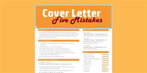 five cover letter mistakes techies make when writing technig