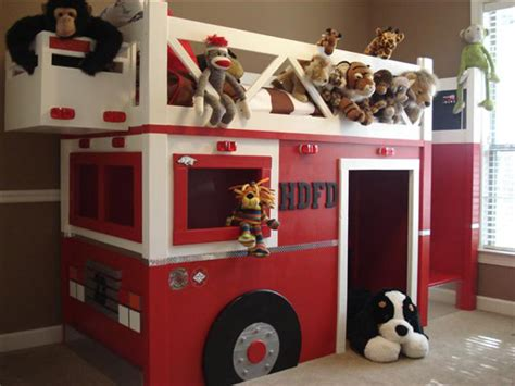 fire truck beds cama cami 243 n de bomberos