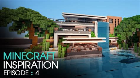 minecraft house inspiration minecraft inspiration w keralis modern cafe youtube