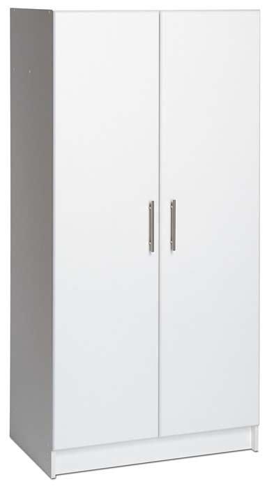 prepac elite collection 32 wardrobe cabinet prepac elite collection wardrobe cabinet for garage or