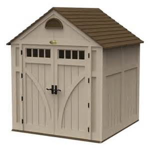 suncast highland 7 ft x 7 ft resin storage building lowe
