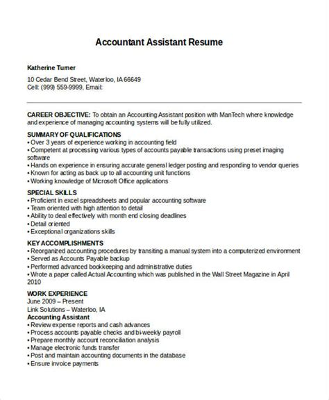 resume format accountant assistant in word 36 resume format free word pdf documents free premium templates