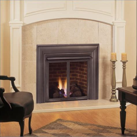 Majestic Fireplaces by Roll Form Black Texture Fireplace Surround For Majestic
