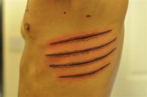 claw marks tattoo by autopirate on deviantart
