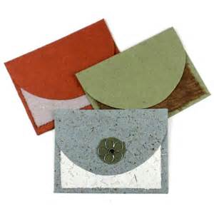 Handmade Paper Cards - set of 3 cascade handmade paper cards