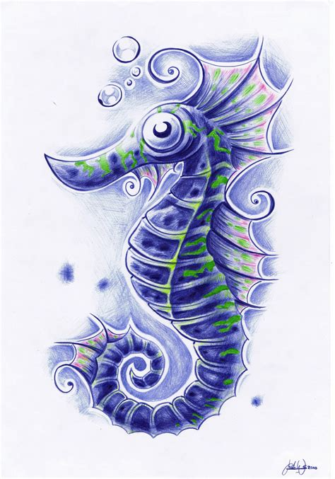 seahorse by widenius on deviantart