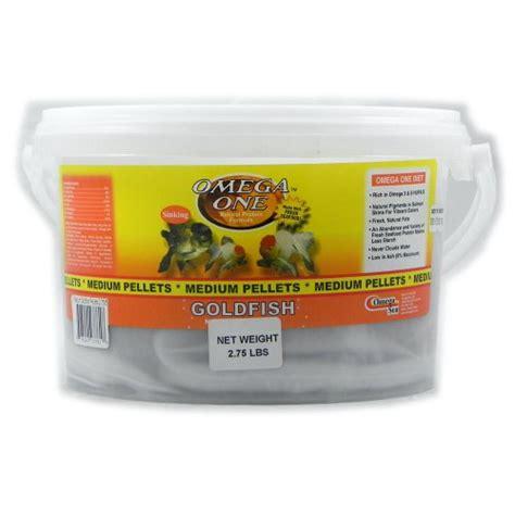 best sinking goldfish food omega one medium sinking goldfish pellet fish food 2 75