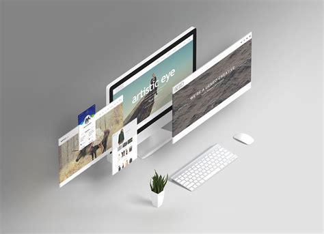 responsive web design layout psd free responsive website design showcasing mockup psd