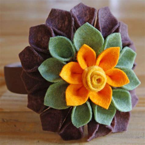 fiore di pannolenci fiori in pannolenci foto tempo libero pourfemme