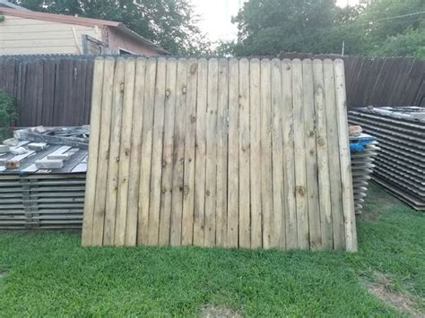 wood fencing  panels pressure treated  rot