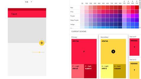 が提唱する マテリアルデザイン の普及をフォローするカラーツールが登場 gigazine - Küche Color Design Tool
