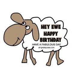 hey ewe happy birthday share animated birthday cute