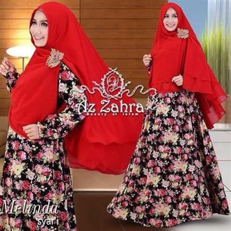 Melinda Syar I by Baju Muslim Wanita Terbaru Model Gamis Melinda Azzahra