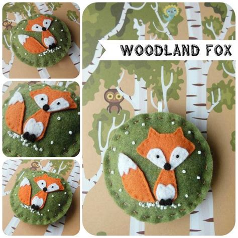 Olive Garden Woodland by Woodland Fox Felt Ornament On Olive By The Tiny
