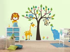 wild life kids room wall sticker decoration ideas liftupthyneighbor