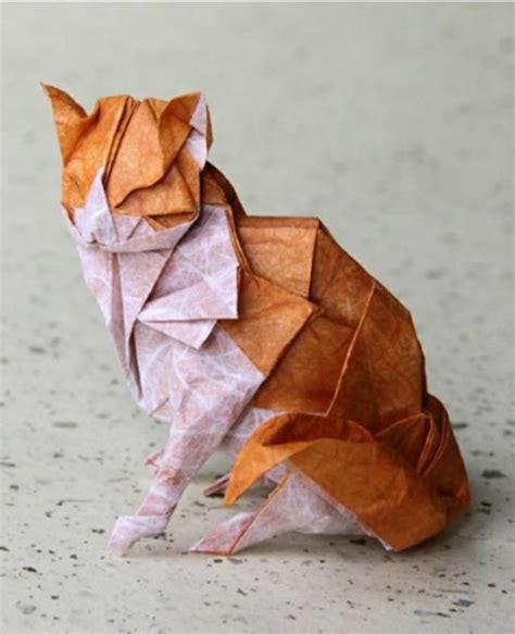 Origami Chat - comment faire un origami 55 id 233 es en photos et vid 233 os