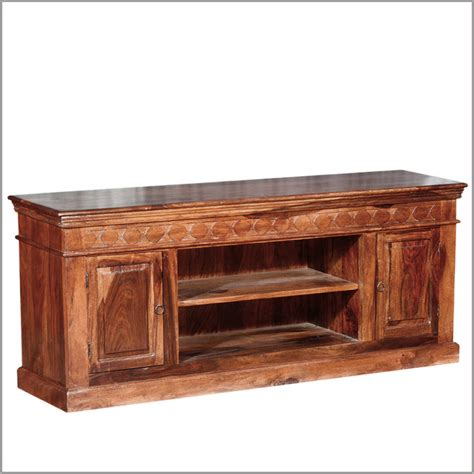 Rustic Entertainment Center Tv Stand Media Console Table Country Cabin Rustic Indian Rosewood Tv Stand Media