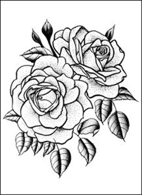 double rose tattoos clipart clipground