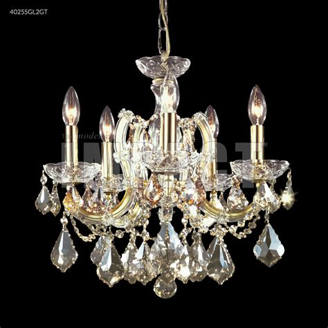 5 Arm Chandelier R Moder Theresa 5 Arm Chandelier Gold Lustre 40255gl2gt From Theresa