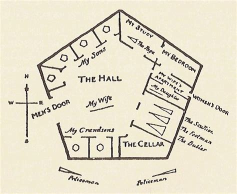 pentagon floor plan the fourth dimension eschermath