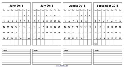 printable calendar june july august 2018 calendar june july august september 2018 happyeasterfrom com
