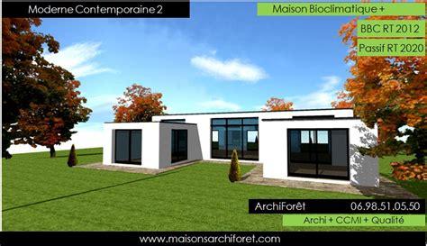 Maison Contemporaine En U by Photo Maison Contemporaine En U