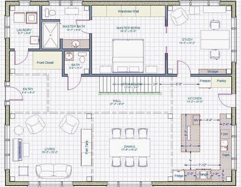 ba7 progress floor plans block out and finalization please help with kitchen size and layout