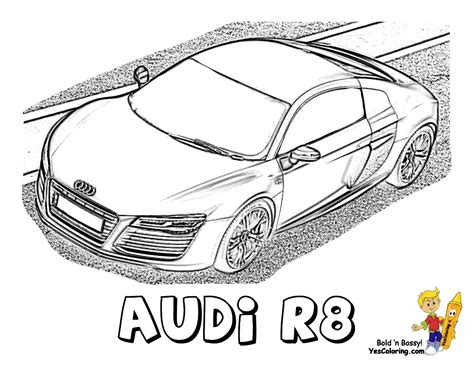 Ausmalbilder Audi by Ice Cool Car Coloring Pages Cars Dodge Free Car