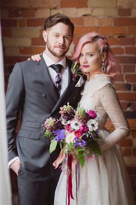 Rock Style Wedding Dresses by Rock N Roll Wedding Ideas