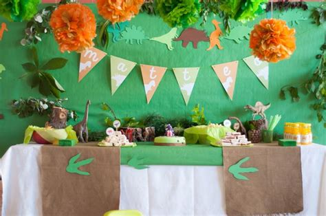 Dinosaurs Decorations by Kara S Ideas Dinosaur Planning Ideas Supplies