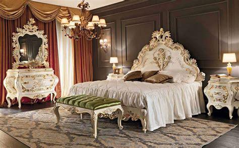 rococo style bedroom design like royal noble bedroom