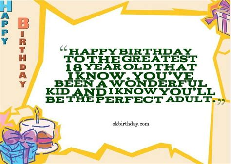 Birthday Quotes For 18 Year Niece Happy Birthday To The Greatest 18 Year Old Birthday