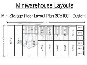 Storage Building Floor Plans by Mini Storage Floor Plans Trend Home Design And Decor