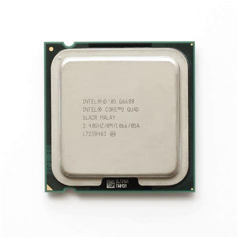 Processor Intel 2 Q6600 240ghz intel 174 core 2 processor q6600 8m cache 2 40 ghz