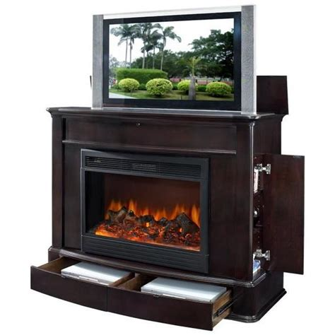 fireplace tv lift 17 best images about electric fireplace on corner electric fireplace electric