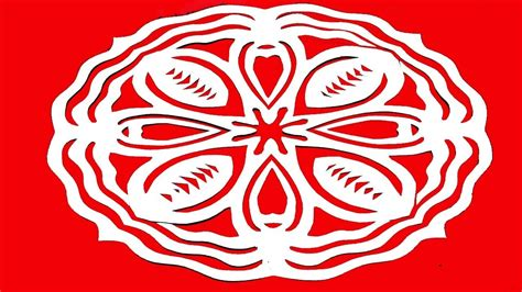 - paper cutting design how to make simple easy paper
