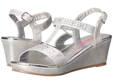 zappos wedge sandals kensie wedge sandals with stones kid big