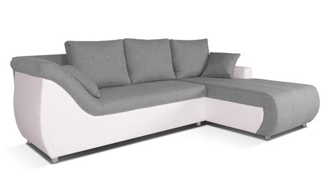 canape d angle droit convertible corabia canap 233 d angle convertible droit design gris