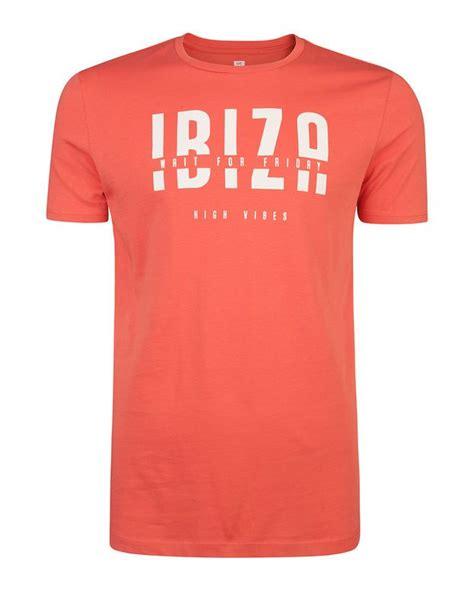 Kaos Stay Humble heren ibiza print t shirt camisetas camisetas