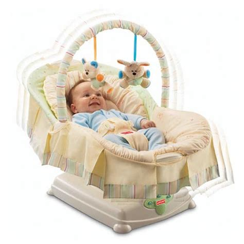 fisher price swing and glider fisher price j1314 soothing motions glider swing ebay