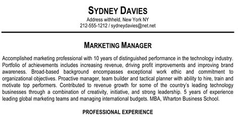 Overview Examples For A Resume by How To Write A Resume Summary That Grabs Attention Blue