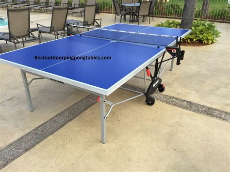 best outdoor ping pong table kettler cologne outdoor ping pong table