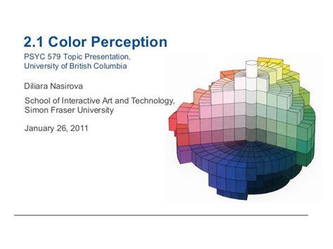 color perception colour perception