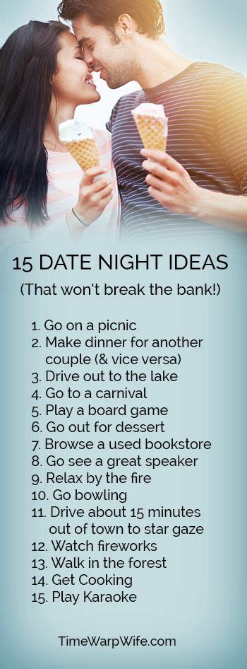 couple date gifts 15 date ideas that don t the bank banks relationships and couples