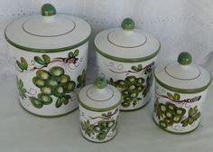 vtg raintree ltd american scenic canister set 4 canisters 1000 images about kitchen canisters on pinterest