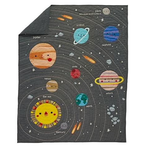 solar system bedding deep space baby quilt solar system crib quilts and so cute
