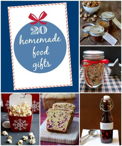 Handmade Food Gifts - food gifts real food real deals