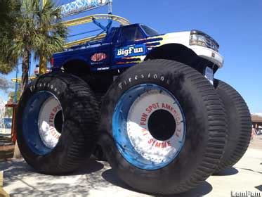 all bigfoot trucks kissimmee fl bigfoot truck 7