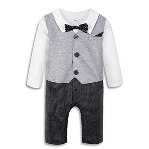 Boogybaby 3pcs Jumpsuit White Series Boy Set Newborn Limited Baby Boy S Jumpsuit Romper 3pcs Newborn Gentleman Formal